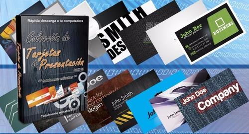 pack plantilla tarjetas de presentacion vectores editables