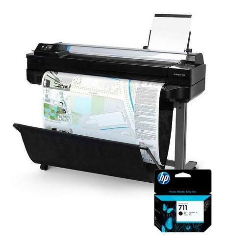 pack plotter t520 36-in (cq893a)  + tinta 711 38ml (cz129a)