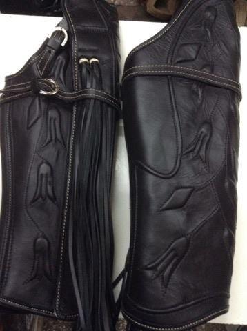 pack polainas + zapato huaso cuero / bauldeaperos