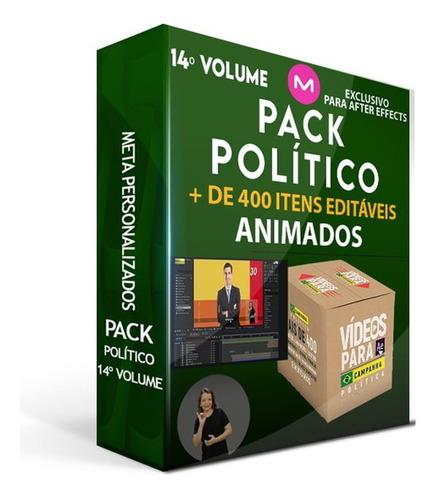 pack político - vídeos editáveis + banners, estorie animados