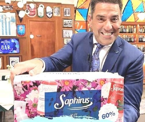 pack por 6 aerosoles saphirus fragancias a eleccion fgb