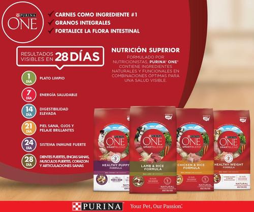 pack purina one® peso saludable pavo 7,5 kg