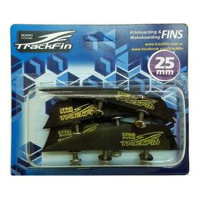 Pack Quillas Trackfin Kite Kitesurf Wakeboard 25mm