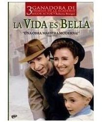 pack roberto benigni la vida es bella + pinocchio original