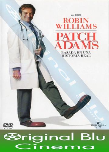 pack robin williams el hombre del año + patch adams +1+ dvd