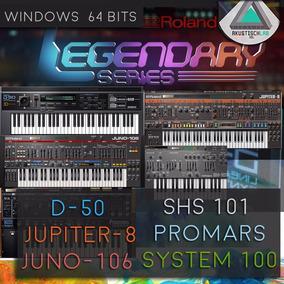 Pack Roland D 50 Juno Jupiter Shs101 Vst Win Sintetizadores