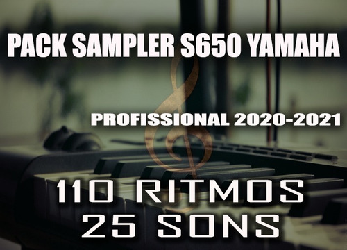 pack sampler psr s650 yamaha