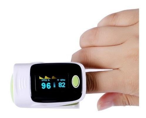 pack saturometro oximetro de pulso + toma presion digital