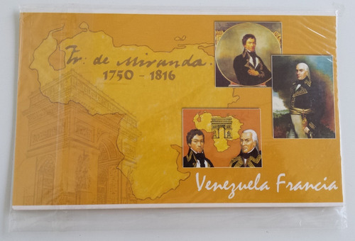 pack sellos venezuela francisco de miranda francia euro