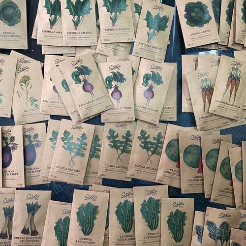 pack semillas sitopia todo el año 5 variedades