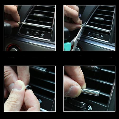 pack tablero tuning moldura rejilla aire + hilo decorativo