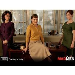 pack temporada 3 completa mad men 4 dvds original