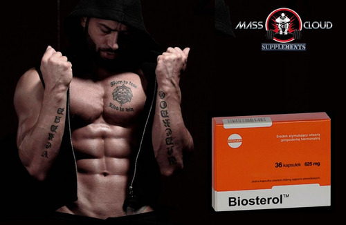 pack testosterol + biosterol suplemento masa muscular