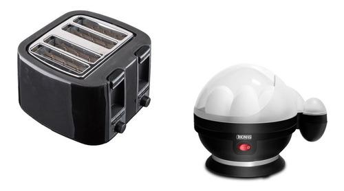pack tostador de pan 4r + cocedor de huevo oster/tick office
