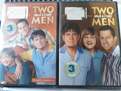 pack two and a half men temp 5 y 7 - dvd