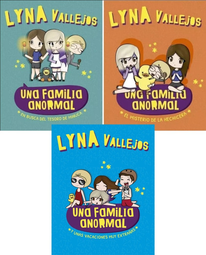 pack una familia anormal - lyna vallejos