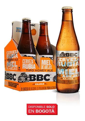 pack variedad cervezas bbc x 24 unid 330 ml c/u (lager/ale)