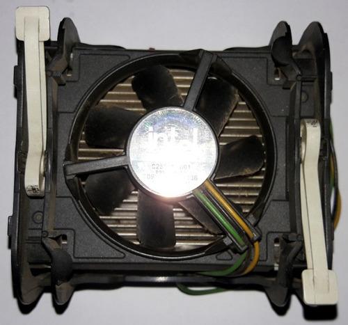 pack ventilador y disipador para procesador