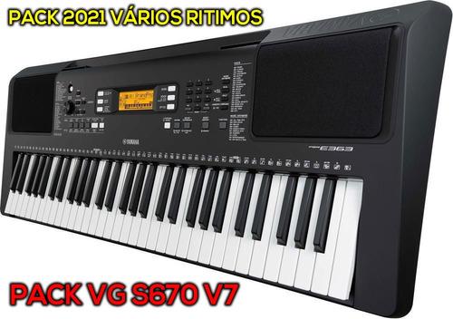 pack vg 2021 teclado s670 v7