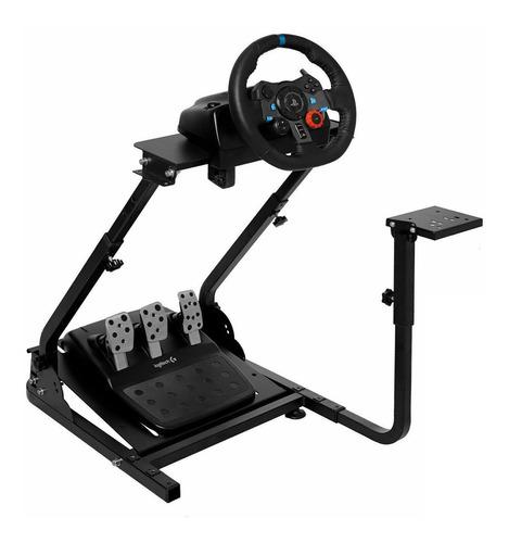 pack volante logitech g29 ps5 ps4 pc + soporte gt
