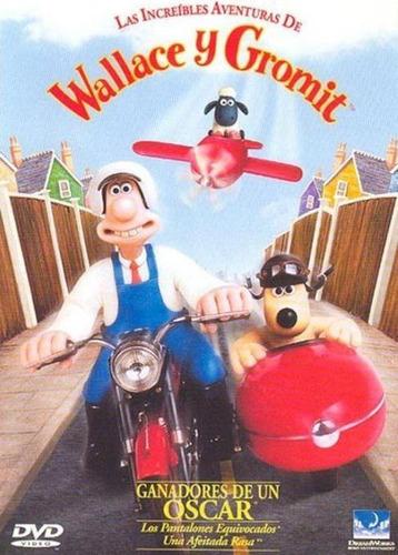 pack wallace y gromit (2 dvd) nick park cine animacion