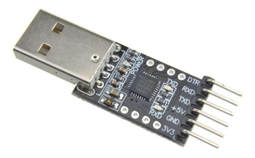pack x 10 adaptador usb uart ttl cp2102 programa 6 pines