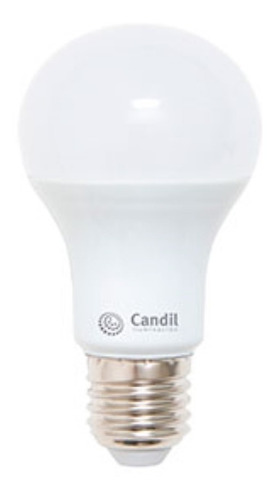 pack x 10 focos led lamparas led 220v e27 12w=75w candil led
