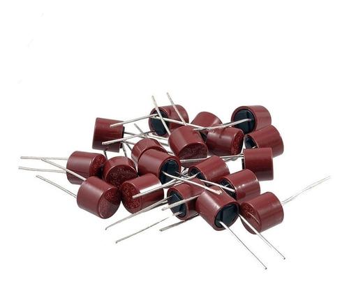 pack x 10 fusible rapido 1a 1 amp 250v plastico cilindrico