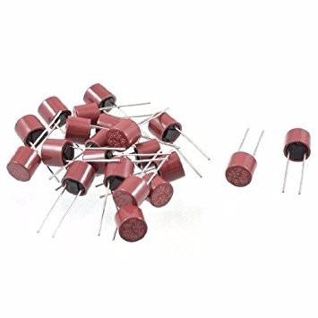 pack x 10 fusible rapido 5a 5 amp 250v plastico cilindrico