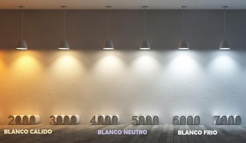 pack x 10 lampara led 14w e27 blanco calido 220v macroled