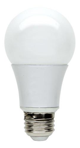 pack x 10 lamparas led foco bulbo 11w 12w = 90w 930lm