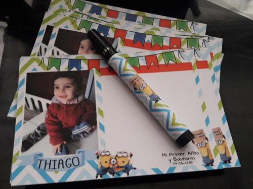 pack x 10 pizarra imantadasouvenir personalizado 14x20cm