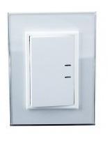 pack x 10 teclon jeluz 3 módulos 220v linea platinum blanco