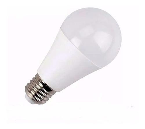 pack x 10 unid. lampara led 12w luz calida rosca comun e27