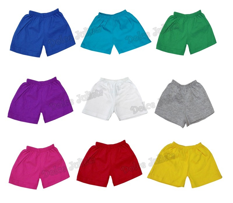 Pack X 12 Short 100% Algodon Bebe Talles 0 Al 5 Por Mayor -   1.080 ... 83aa22355c89