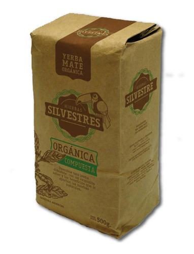 pack x 12 yerba mate orgánica compuesta silvestres