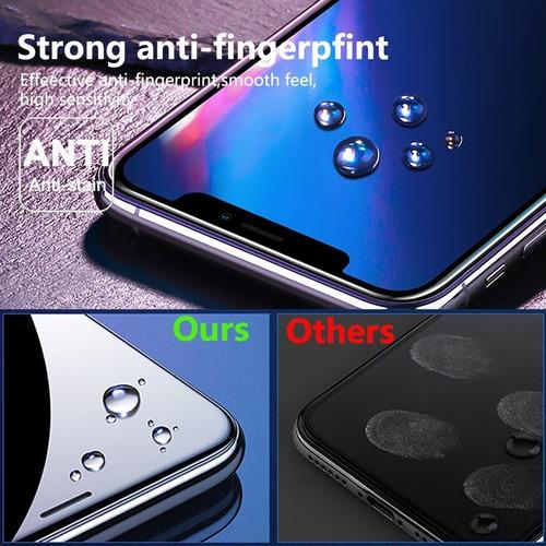 pack x 2 film vidrio protector resistente iphone xr & ip 11