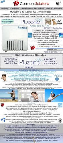 pack x 2: ozonizador aire desinfecta elimina virus bacterias