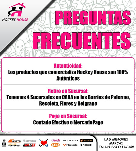 pack x 20 bochas de hockey drial super oferta envió gratis