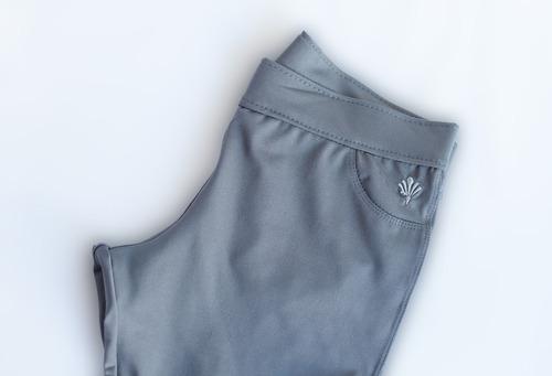 pack x 3 - calza recta dama, polisap, color gris, s al xl