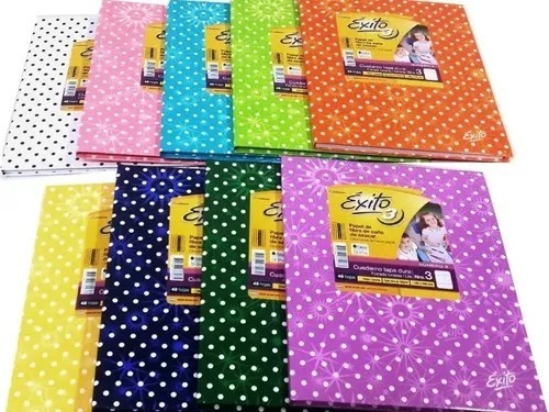 pack x 3 cuadernos exito abc + h dibujo n 5
