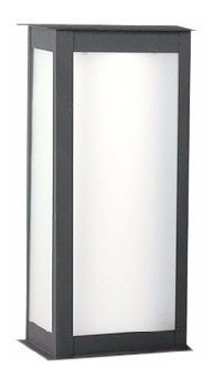 pack x 3 farol pared  moderno + 6 led 10w 2001