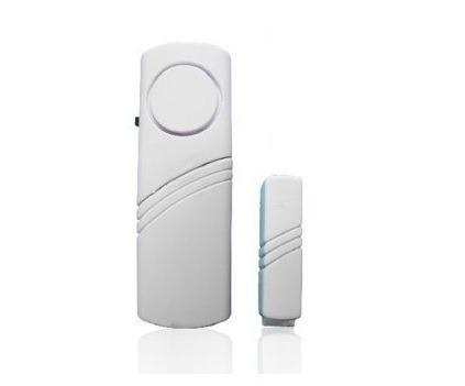 pack x 4 alarmas magnetica ventana puertas sonora a pilas