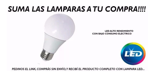 pack x 4 bidireccional exterior apto led e-27 pared fz