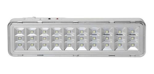 pack x 4 luces luz de emergencia 30 leds 8hrs autonoma
