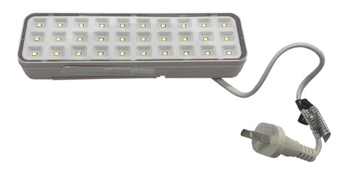 pack x 4 luces luz de emergencia 30 leds 8hrs autonoma