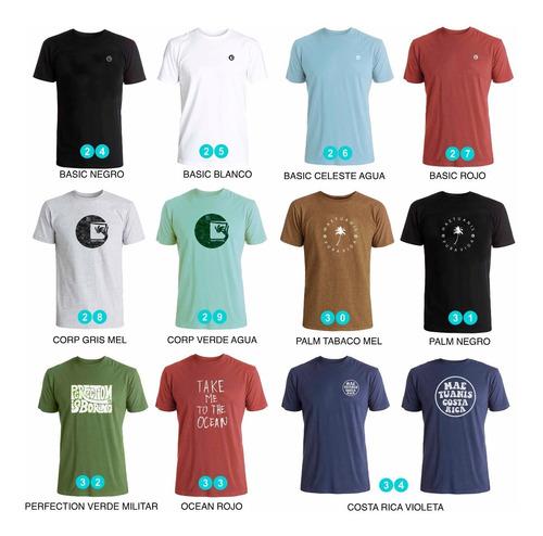 pack x 4 remeras estampadas - muchos modelos para elegir !
