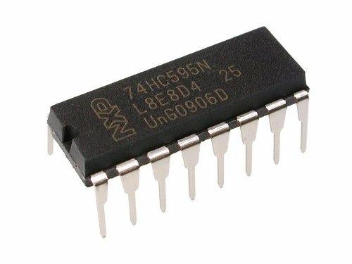pack x 5 hc595 74595 sn74hc595n 74hc595 sr 8-bit dip-16