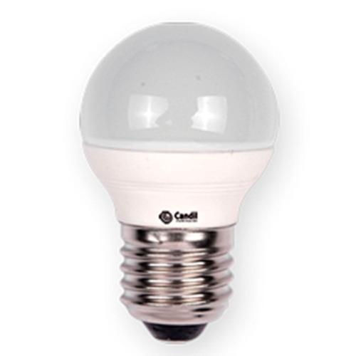 pack x 5 lamparas led 220v tipo gota e27 4w=40w marca candil luz calida / fria ideal guirnaldas / camarin