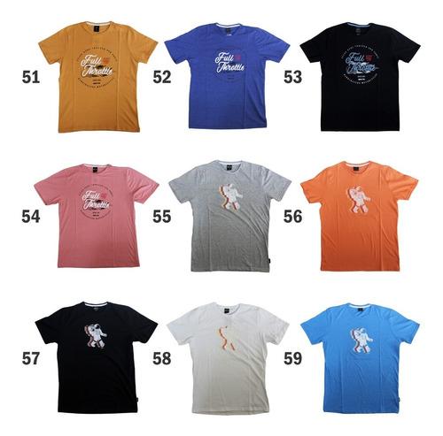 pack x 5 remeras estampadas skr hombre - muchos modelos